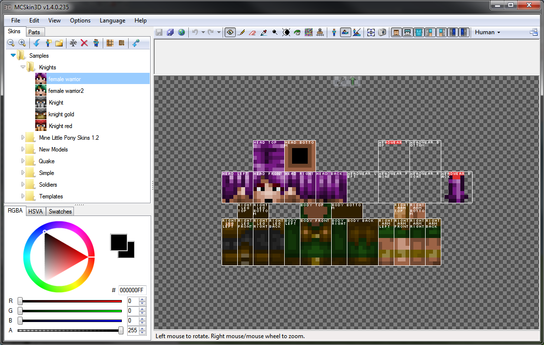 MCSkin D Skins Mapping And Modding Java Edition Minecraft - Skin para minecraft do zoom